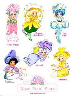 Rose Petal Place stickers 1980s Childhood, My Childhood Memories, Sweet Memories, Rainbow Brite, 80s Kids, Ol Days, My Memory, Up Girl, Girl Cartoon