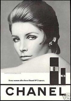 Vintage Chanel Cosmetics Ad