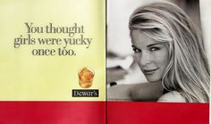 Dewar's print ad from the '90s.