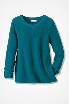 Boxy Shaker Pullover - Coldwater Creek