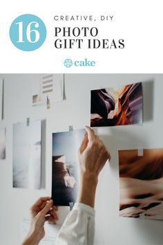 These creative photo gift ideas help your loved one keep their favorite photos close. Whether you're sharing an album, collage, or something else, they're sure to appreciate any type of photo gift like this list. #PhotoGift #GiftIdea #DIYgift #CreativeGift
