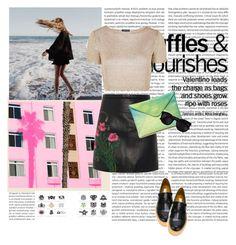 Designer Clothes, Shoes & Bags for Women Christopher Kane, Karen Walker, Valentino, Sequin Skirt, Topshop, Shoe Bag, Polyvore, Bags, Stuff To Buy