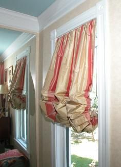 Love this type of balloon curtain.