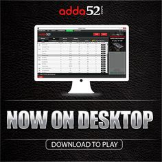 Adda52.com Launches Online Poker Desktop Software; Company Attains User Base of Eight Lakhs