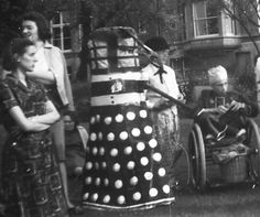 Dalek at a Fancy Dress Event at the National Children's Home  Chipping Norton