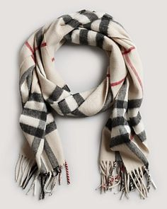 Burberry Giant Check Cashmere Scarf - Finally got this and absolutely love it!