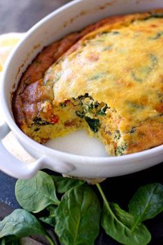 Packed full of protein and veggies, this is one hearty breakfast, brunch or dinner!Packed full of protein and veggies, this is one hearty breakfast, brunch or dinner! Breakfast Dishes, Breakfast Time, Breakfast Recipes, Breakfast Spinach, Breakfast Ideas, Breakfast Specials, Egg Recipes, Brunch Recipes, Cooking Recipes