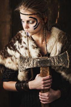 celtic warrior woman …