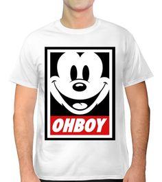 Camiseta estilo Mickey Mouse.<br>Camiseta Unisex.<br>Ideal para hombre y mujeres.