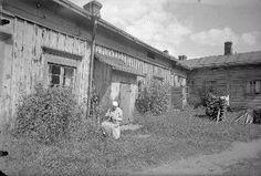 Tampere, Kuninkaankatu Kuvausaika: Kuvaaja: E. Finland, Past, Black And White, Blessed, Pictures, Outdoor, Vintage, Historia, Museum
