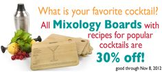 All Core Bamboo Mixology Boards are 30% off.