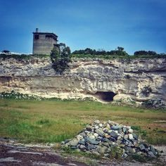 The quarry on Robben Island where prisoners including Nelson Mandela were tasked with breaking up the limestone into piles. Robben Island was declared a World Heritage Site in Photo: Masayo Ohyama Nelson Mandela, African History, Chameleon, World Heritage Sites, Breakup, Prison, Grand Canyon, Cape, Tours
