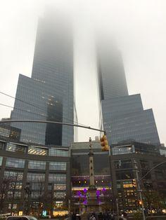 Foggy New York.