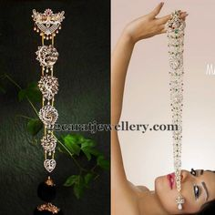 Jewellery Designs: Diamond Peacock Jada Designs