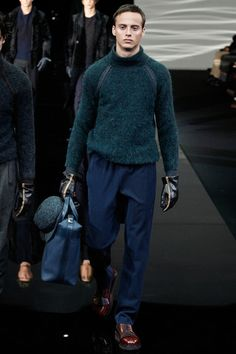 Giorgio Armani Fall 2014 Menswear Collection Slideshow on Style.com