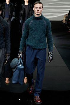 Giorgio Armani Fall 2014 Menswear Collection Slideshow on Style.com