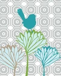Image result for modern bird art
