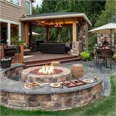 A modern pergola adds style and shade to your backyard. When you want to build a pergola to your patio or backyard, surely you will need posts, larger pots for plants, and other materials. Backyard Patio Designs, Pergola Patio, Backyard Landscaping, Backyard Seating, Landscaping Ideas, Pergola Kits, Backyard Ideas, Gazebo, Outdoor Seating