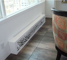 laser cut screen radiator cover