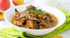 Moroccan Beef and Apricots In Your Clay Pot Slow Cooker  A Warm Middle Eastern Inspired Stew with Beef and Spicy Beef Stew, Beef Stew Meat, Honey Recipes, Lamb Recipes, Crockpot Lamb, Moroccan Beef, Lamb Stew, Roast Lamb, Slow Cooker Tacos