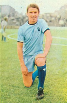 Bob Parker of Coventry City in 1971.