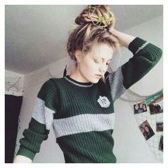 Slytherin Clothes, Slytherin House, Slytherin Pride, Slytherin Aesthetic, Harry Potter Aesthetic, Ravenclaw, Hogwarts Houses, Hogwarts Uniform, Mode Harry Potter