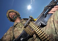 TA Reservist Soldier on Exercise in Italy by Defence Images, via Flickr