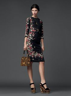 Dolce & Gabbana – Woman Collection Fall Winter 2014