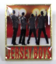 Jersey Boys the Broadway Musical - Logo Lapel Pin $9.95