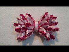 Como fazer Laço elegante, feito com fita de cetim/ Sandra Monteiro Artesanatos - YouTube