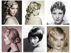 ... 20s Hair on Pinterest | Great Gatsby Hair, 1920s Hair and Flapper