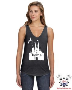 Disney Is My Home, Ladies Tank