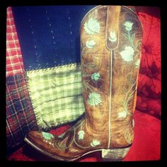 Old Gringo Abby Rose Aqua Cowgirl Boots at RiverTrail in North Carolina. #cowgirlboots