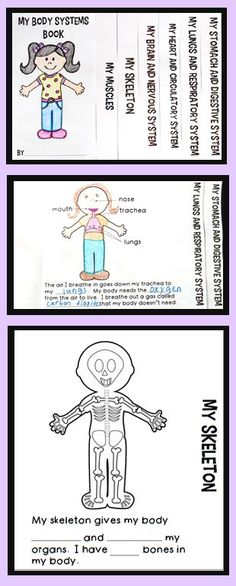 Human Body Systems Flip Book:  includes diagrams of different body systems and short text with blanks for students to fill in.  The cover page graphic is also blank so students can personalize it.  Great addition to a human body unit!