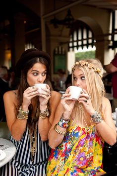 Coffee is always better with friends.