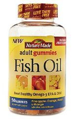 FREE Sample of Nature Made Adult Fish Oil Gummies on http://hunt4freebies.com