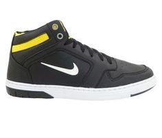 bdb609d948e Tênis Nike Force Sky Preto e Amarelo  13651  1ª Linha  Tênis Nike