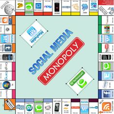 Social Media Monopoly: popular and niche sites in social media industry. Monopoly Gets an Unofficial Social Media Edition. Affiliate Marketing, Internet Marketing, Social Media Marketing, Social Media Company, Social Media Tips, Social Networks, Marketing Digital, Contexto Social, Seo And Sem