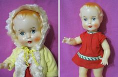 Russian Vintage Doll Ruta Plastic Neringa USSR 60's RARE New | eBay