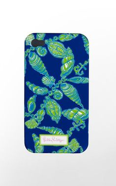 Iphone 4 Cover : because even your iPhone deserves to be dressed in Lilly