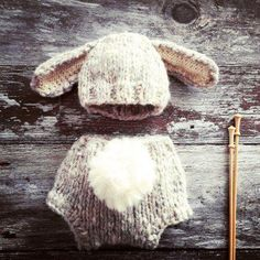 Baby Knitting Patterns Cute Baby Animal Hat Set knitting project shared on the Love...
