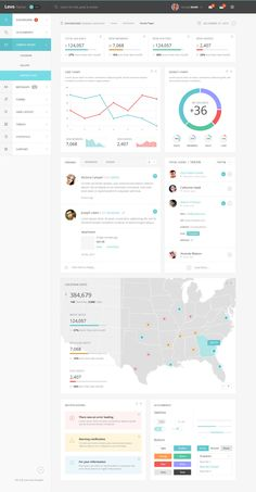 Our latest admin psd template is a very modern and beautiful dashboard design with everything you could need to create subtle and striking admin panel. Dashboard Examples, Dashboard Design, Dashboard Interface, User Interface Design, Admin Panel Template, Ui System, Web Design, Data Visualization, Psd Templates