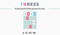 Threes!, el juego de números al que no podrás parar de jugar