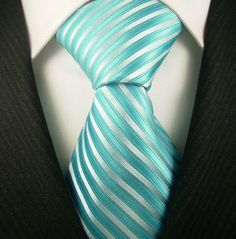 Handsome in Tiffany blue tie