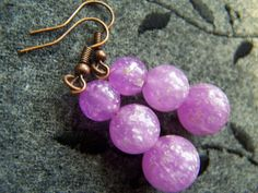 Upcycled Vintage Purple and Glitter Infused by autumnraincreations, $14.00
