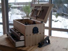 My version of The Essential Tool Chest - by L-H Johnsen @ LumberJocks.com ~ woodworking community