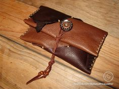 Handmade Upcycled Deerskin Genuine Leather Rolling Tobacco Pouch by WadadaAfrica on Etsy Deerskin, Pouches, Upcycle, Africa, Wallet, Leather, Handmade, Etsy, Pocket Wallet