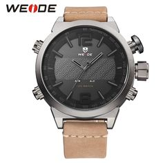 31.15$  Buy now - http://aliqm9.shopchina.info/1/go.php?t=32803518251 - Weide Brand 2017 New Hot Men Sports Watches LED Digital Quartz Wrist Watches Men's Top Brand Luxury watch  #magazineonlinebeautiful