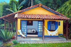 de casas de praia: 15 modelos Casa de praia com fachada decoradaCasa de praia com fachada decorada