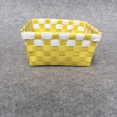 2018 Multicolored Storage Basket, Cover Free Sorting Basket, Home Desktop Storage Basket, Woven, Multi Color Optional, Green Grid, Yellow From Shnaia111, $20.11 | DHgate.Com Desktop Storage, Storage Baskets, Sorting, Grid, Yellow, Cover, Home Decor, Desk Storage, Interior Design